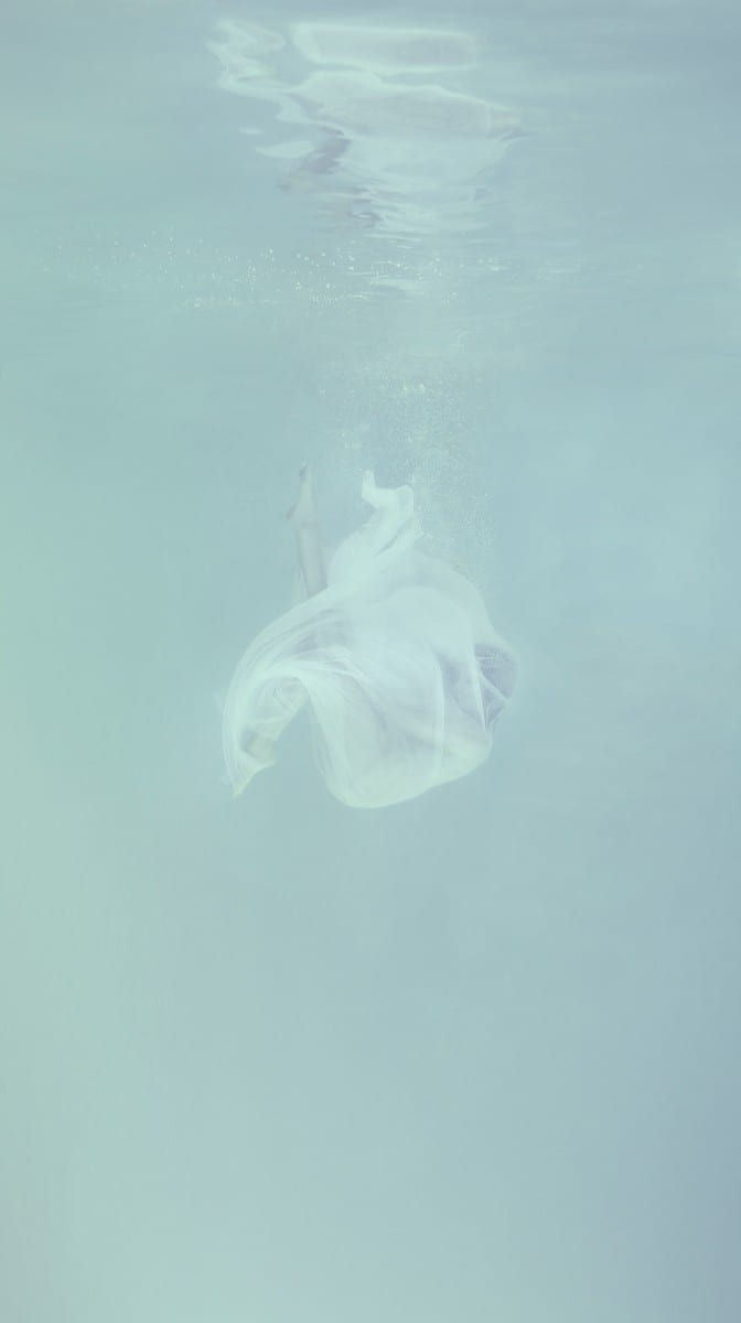 "Mallory Morrison, Shroud from the series FOG, archival pigment print, Edition of 40, 14"" x 24"", 2013"