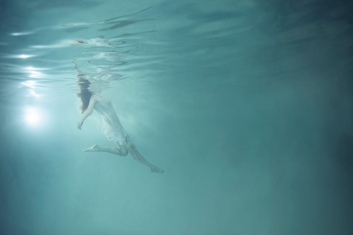 "Mallory Morrison, Inhale from the series FOG, archival pigment print, Edition of 25, 24"" x 36"", 2012"