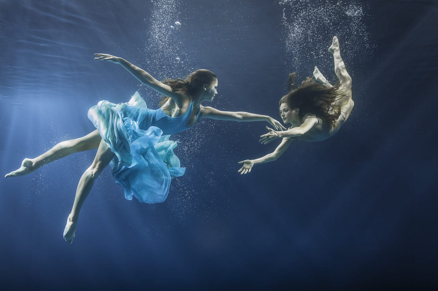 Maya Almeida, Underwater Dance Series, 2014