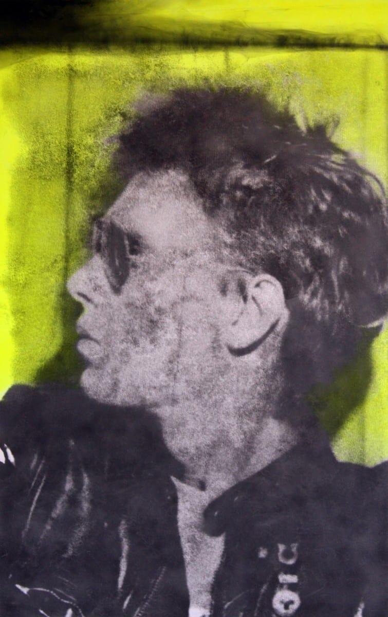 "Rob Tarbell, Frank, smoke, acrylic on canvas, 44"" x 27"", 2013"