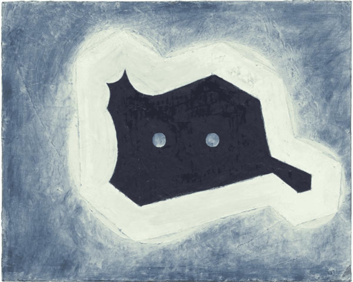 Thomas Nozkowski, untitled (6-53), oil on canvas board, 16 x 20 inches, 1998.