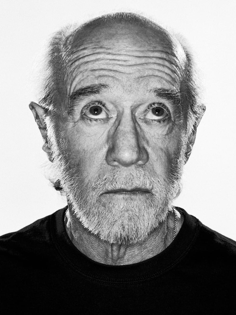 Rainer Hosch_George Carlin_2014_direct print on aluminium_edition of 5 + 2AP_30 x 40 in_76 x 102 cm_3000