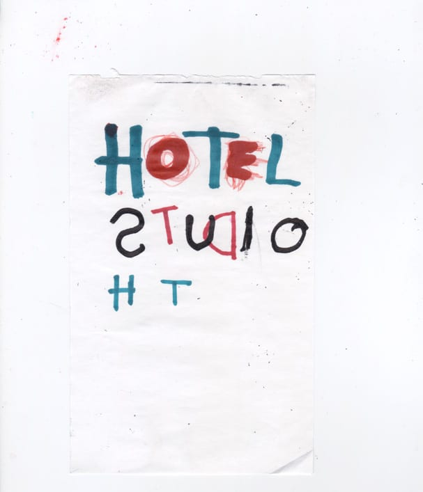 "Reissue of ""HOTEL STUDIO"" by Gregory Siff x Louisxxx."
