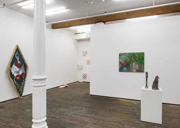 "Installation View of ""Cyborg."""