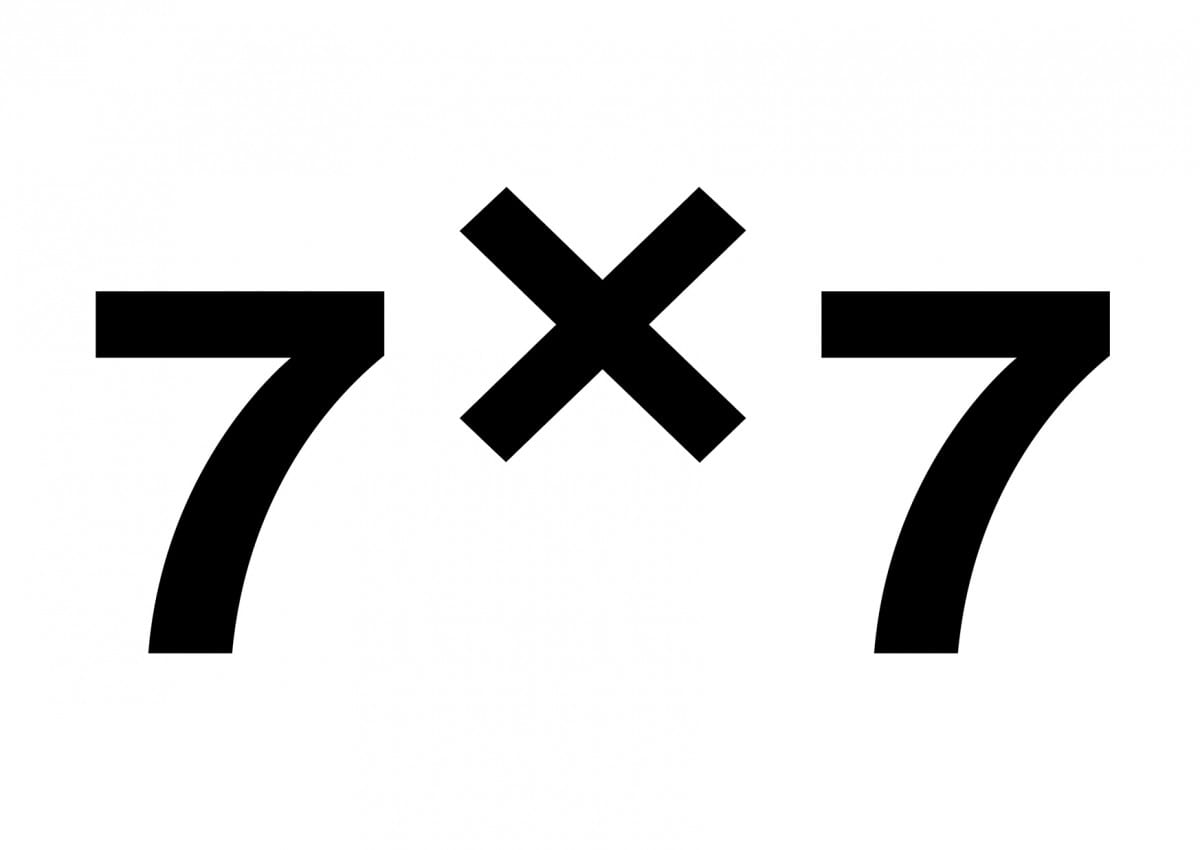 7x7-3