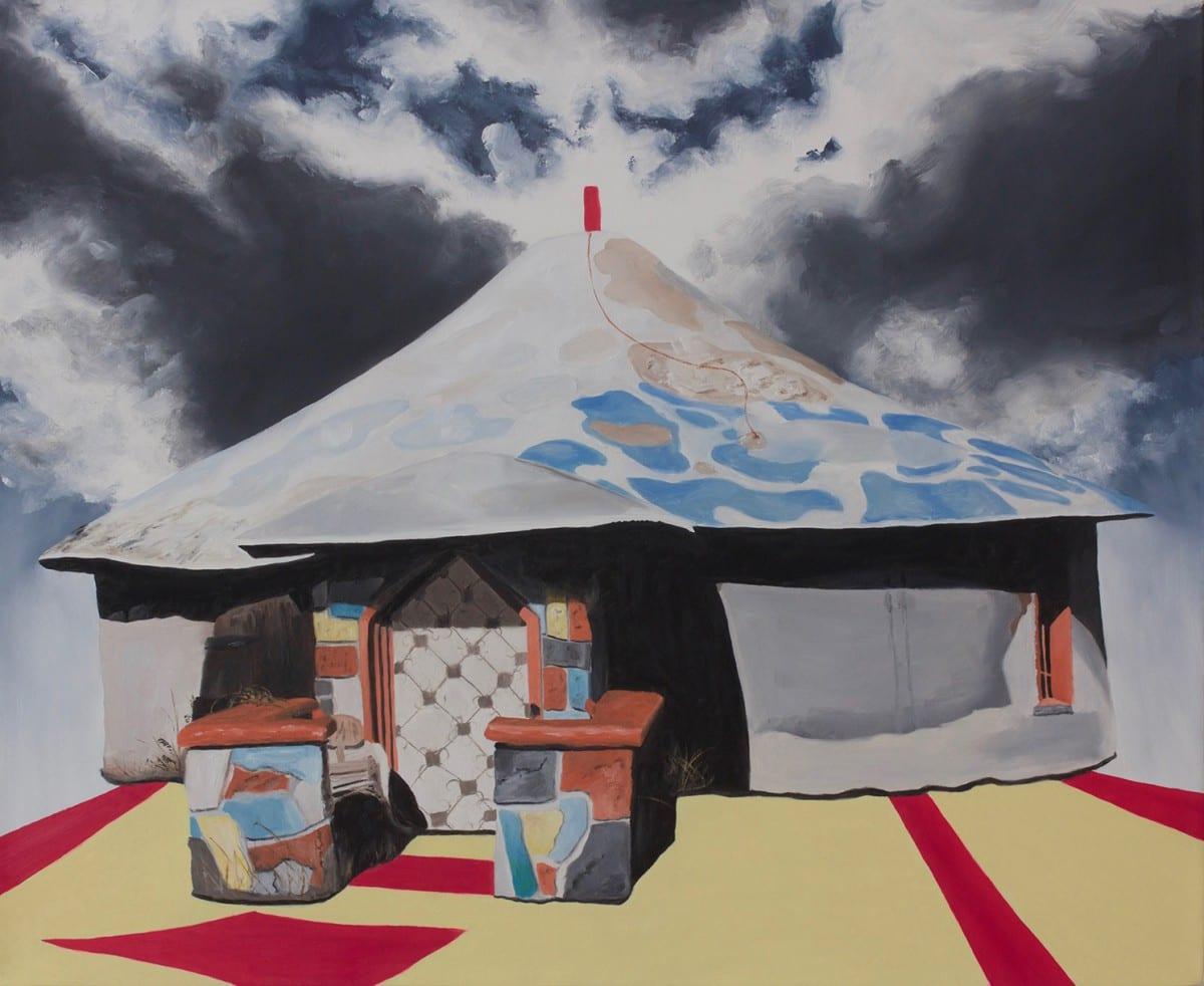 "Lisa Adams, Dun Hemet, 2016, oil on canvas, 18"" x 22.""  Image © of the artist and CB1 Gallery."