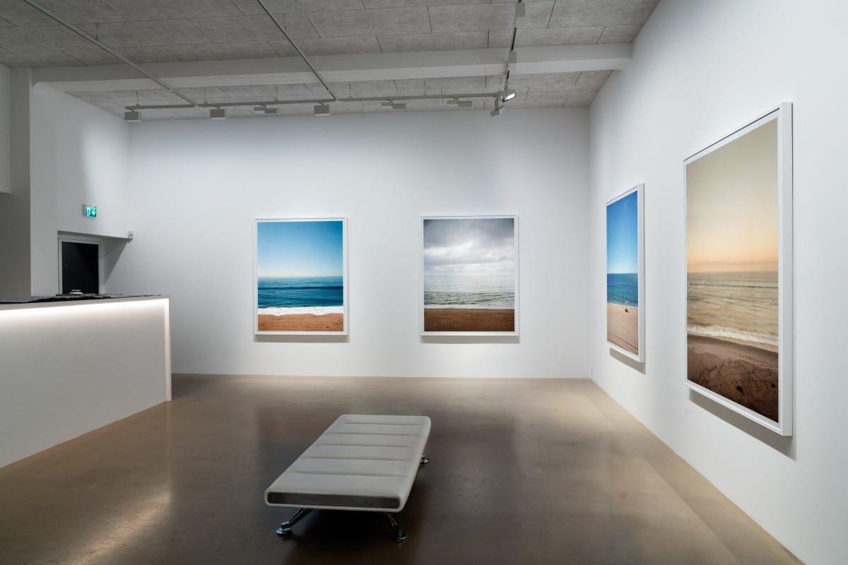 "Installation view of ""Topanga Beach.""  Photo by Rainer Hosch,"