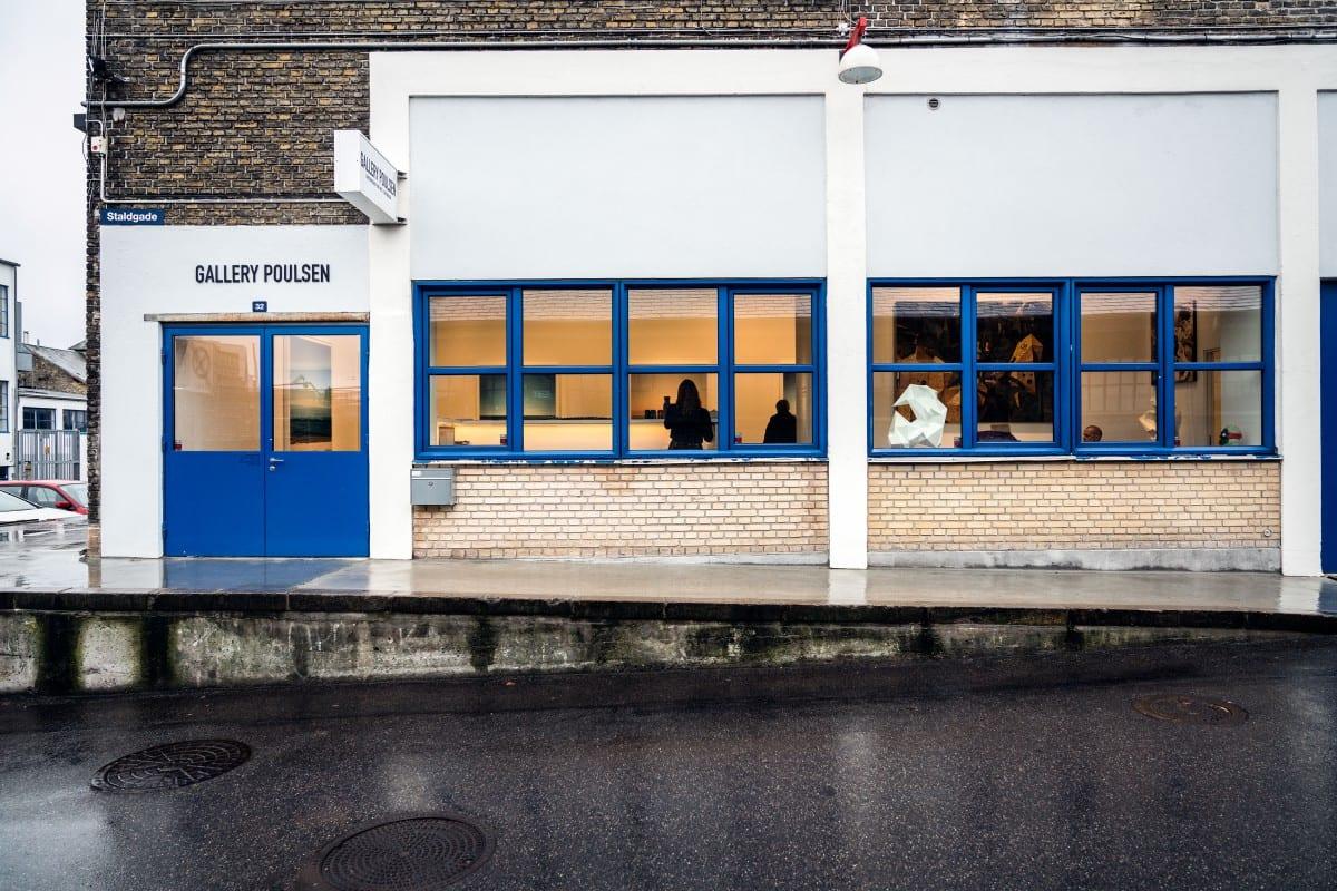 Exterior of Gallery Poulsen in Copenhagen.  Photo by Rainer Hosch.