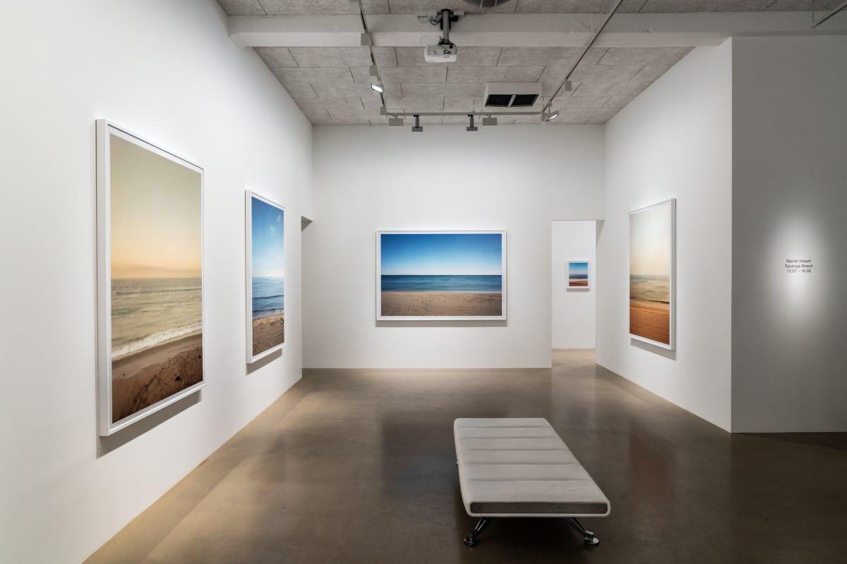 "Installation view of ""Topanga Beach.""  Photo by Rainer Hosch."