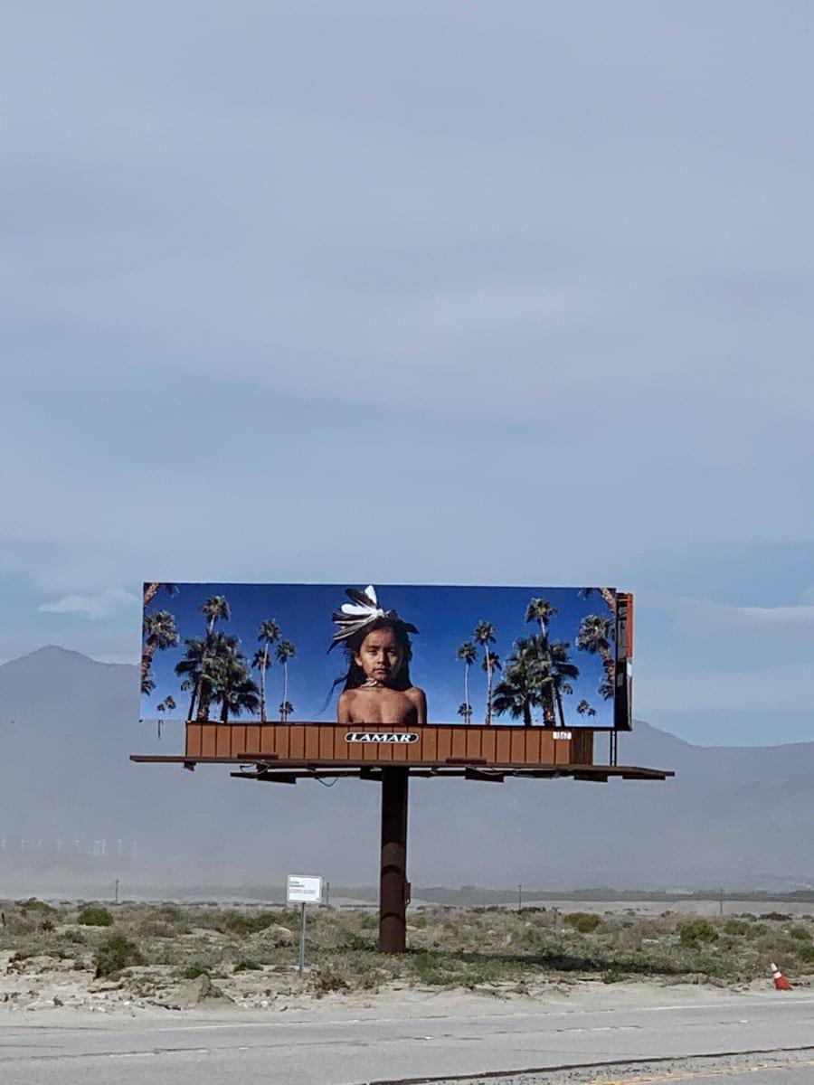"Cara Romero, ""Jackrabbit, Cottontail & Spirits of the Desert,"" 2019."